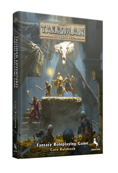 Talisman Adventures RPG Core Rulebook (Hardcover)