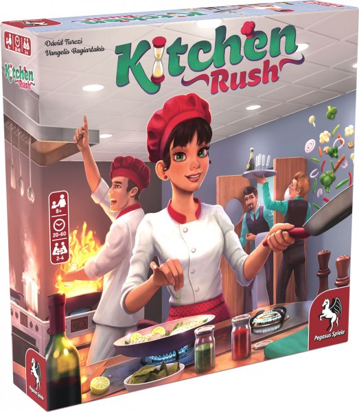 Kitchen Rush (English Edition)